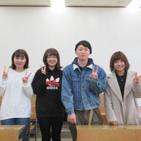 2019年2月16日(土)入校生いらっしゃいませ♪
